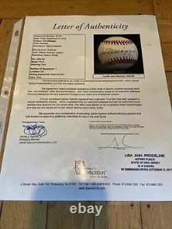 + Joe DiMaggio Autographed American League Baseball JSA Full Letter