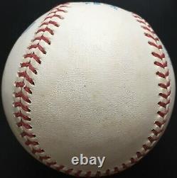 Joe DiMaggio Autographed American League Baseball, JSA LOA