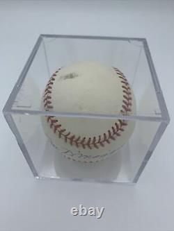 Joe DiMaggio Autographed Signed Official American League MLB Rawlings Baseball