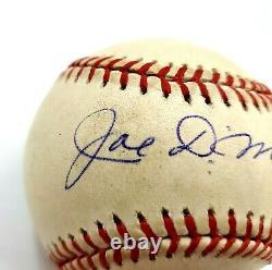 Joe DiMaggio Autographed Signed Official American League Rawlings Baseball COA