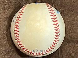 Joe DiMaggio HOF Autographed American League Baseball PSA/DNA