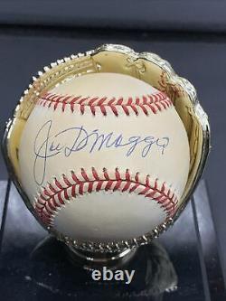 Joe DiMaggio Signed Autographed American League Baseball Yankees SGC / LOA