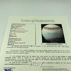 Joe DiMaggio Signed Official American League Baseball NY Yankees JSA COA