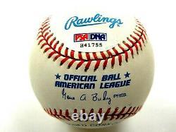 Joe Dimaggio Hrs 361 Psa/dna Signed American League Baseball Autograph #h41755