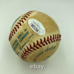Joe Dimaggio Signed Autographed Official American League Baseball JSA COA