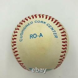 Joe Dimaggio Signed Official American League Baseball With PSA DNA COA