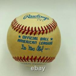 Judy Johnson Single Signed Autographed Vintage American League Baseball JSA COA