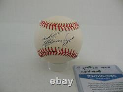 Ken Griffey Jr. Autographed Signed American League Baseball Beckett BAS COA