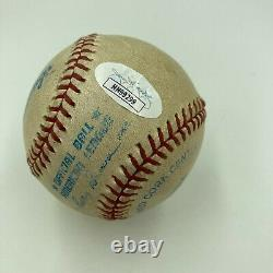 Ken Griffey Jr. Signed Game Used American League Baseball With JSA COA