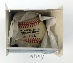Lot of (10) Rawlings Official American & National League Baseball 1990s