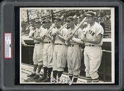Lou Gehrig 1935 American League All-Star Team Type 1 Original Photo PSA/DNA