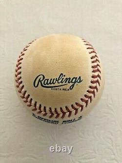 MICHAEL JORDAN Signed Baseball American League Rawlings Autograph Letter