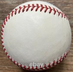 MICKEY MANTLE Breathtaking Signed American League BASEBALL PSA/DNA COA/LOA