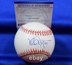 Mark McGwire PSA DNA Coa Autograph American League OAL Signed Baseball