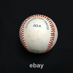 Mickey Mantle Auto Autographed Signed Rawlings American League Baseball Jsa Loa