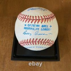 Mickey Mantle Signed Autographed American League Baseball New York Yankees
