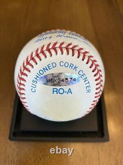 Mickey Mantle Signed Autographed American League Baseball Upper Deck UDA COA
