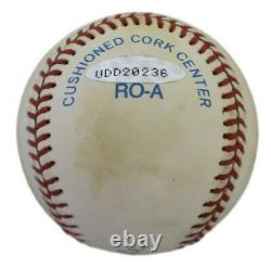 Mickey Mantle Signed New York Yankees American League Baseball UDA 30602