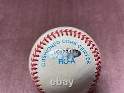 Mickey Mantle Signed Upper Deck Authenticated American League Baseball