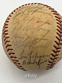 Minnesota Twins Team Signed American League Baseball 24 signatures 1977 78