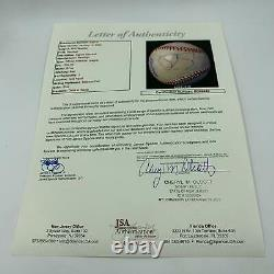 Phil Spector Single Signed Autographed American League Baseball With JSA COA
