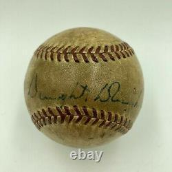 President Dwight D. Eisenhower Single Signed American League Baseball JSA COA