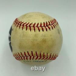President Ronald Reagan Single Signed 1981 American League Portrait Baseball JSA