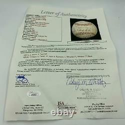 Rare 1978 Detroit Tigers Team Signed American League Baseball With JSA COA