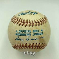 Rare Dean Martin Signed Autographed American League Baseball PSA DNA COA