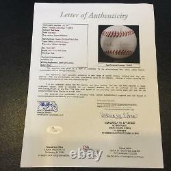 Rare Red Rolfe Single Signed 1950 American League Baseball PSA DNA & JSA COA