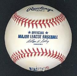 Rawlings Official 2001 4th of July American Flag Baseball Ball MLB League HTF