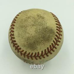 Ted Lyons Single Signed 1970's Official American League Baseball With JSA COA