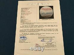 Ted Williams Auto Signed American League Ball Baseball JSA Fully Certified