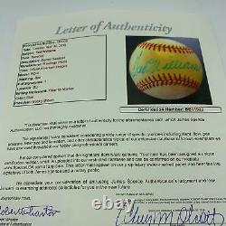 Ted Williams Signed Official American League Baseball With JSA COA Red Sox