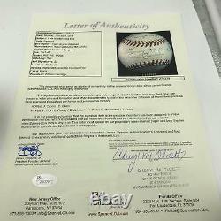 The Finest 1944 Boston Red Sox Team Signed American League Baseball JSA COA