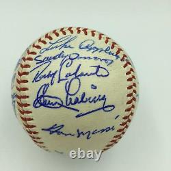 The Finest 1960 Detroit Tigers Team Signed American League Baseball With JSA COA