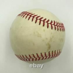 The Finest Joe Louis Single Signed American League Baseball On Earth PSA DNA COA