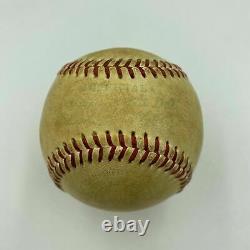 Vintage 1950's Al Kaline Rookie Era Signed American League Baseball With JSA COA