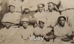 Vintage African American Baseball Team Negro League Black History Uniform Photo