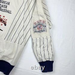 Vintage Nike New York Yankees American League Baseball Sweatshirt Sz Medium 90s