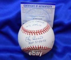 Yogi Berra MVP HR`s WS`s PSA DNA Coa Autograph American League Signed Baseball