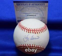 Yogi Berra PSA DNA Coa Autographed American League OAL Signed Baseball
